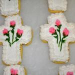 Whether for Easter, baptism or confirmation, cross sugar cookies are a great way to remember our faith.