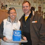 Bud Light Groom's cake