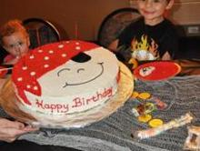 Birthday Party Pirate Cake